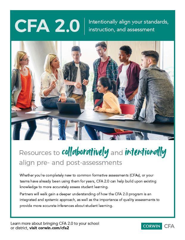 Common Formative Assessments 2.0, assessment, Larry Ainsworth, education white paper, Corwin, professional development, educators, teachers