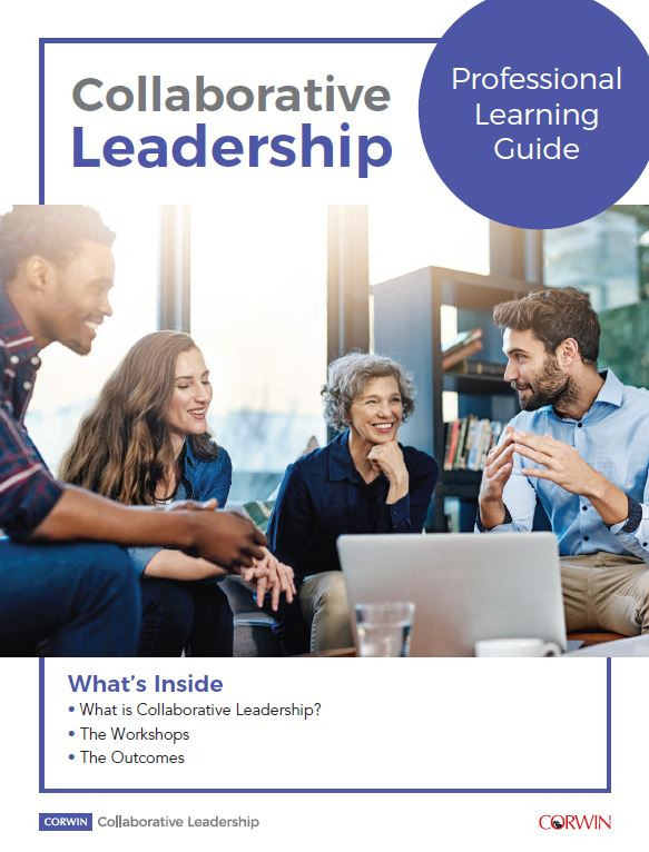 Collaborative Leadership, white paper, Corwin, Peter DeWitt, professional development, professional learning, principals, superintendents
