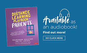 Audio Book Ad The Distance Learning Playbook for Parents