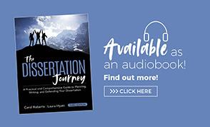 Audio Book Ad The Dissertation Journey