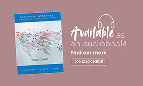 Audio Book Ad Reach for Greatness