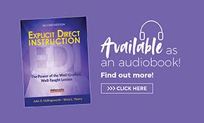 Audio Book Ad Explicit Direct Instruction (EDI)