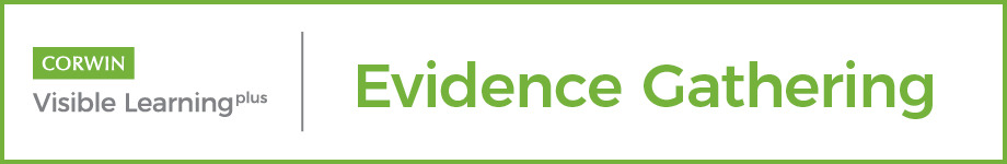 Visible Learning Plus Evidence Gathering Tools