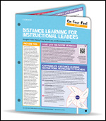 On-Your-Feet Guide: Distance Learning for Instructional Leaders